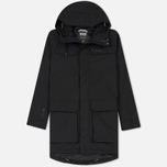 Мужская куртка парка Helly Hansen Captains Rain Black Negro фото- 0