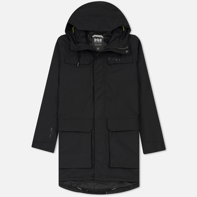 Мужская куртка парка Helly Hansen Captains Rain Black Negro