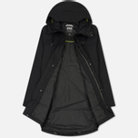 Мужская куртка парка Helly Hansen Captains Rain Black Negro фото- 1
