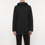 Мужская куртка парка Helly Hansen Captains Rain Black Negro фото- 9