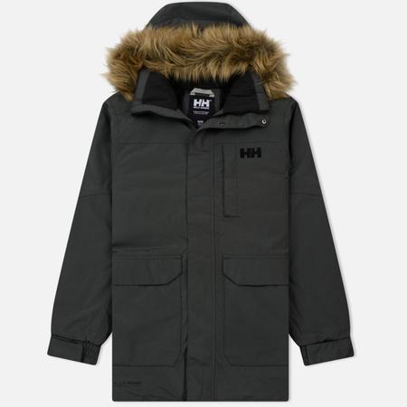 Мужская куртка парка Helly Hansen Dubliner Black Melange