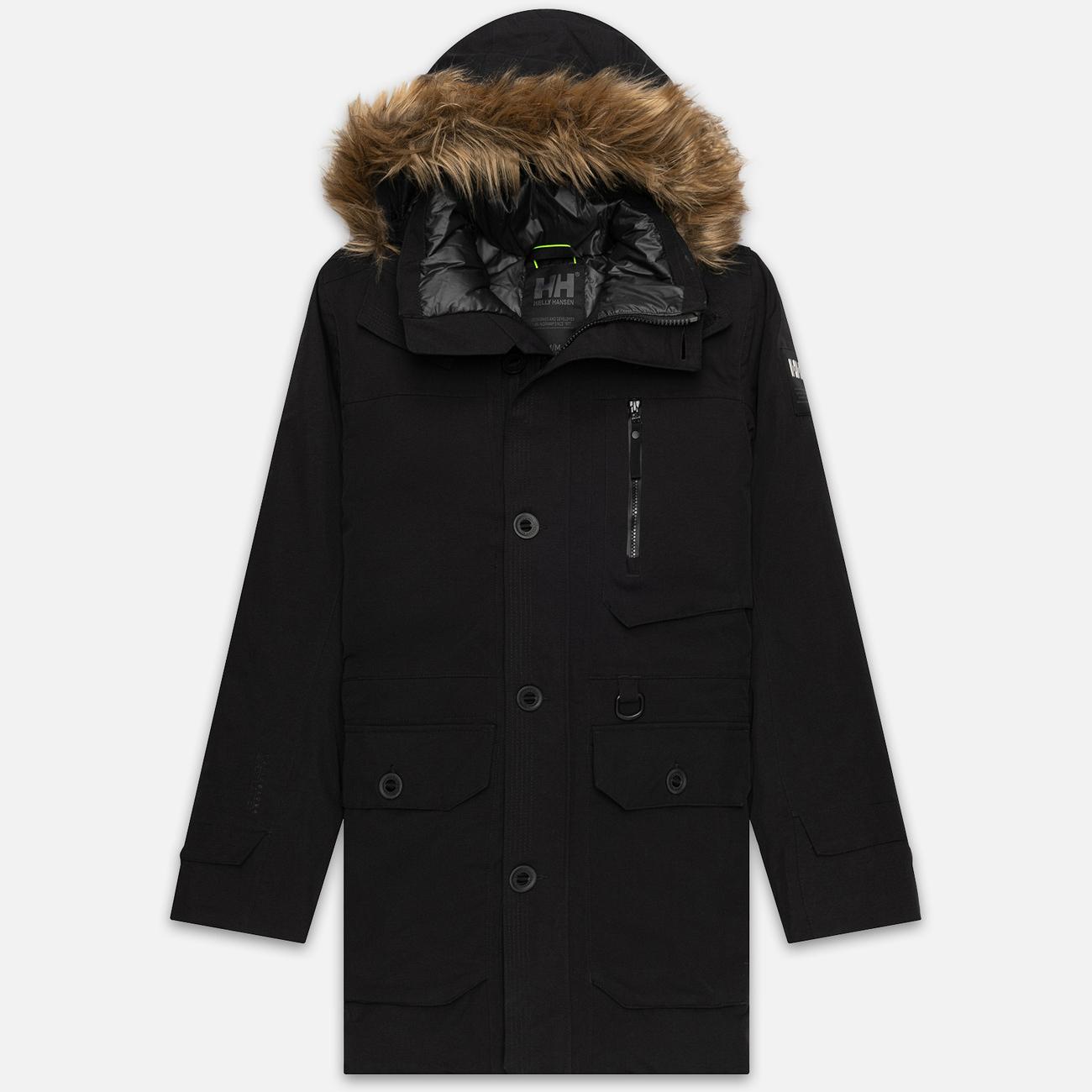 Мужская куртка парка Helly Hansen Longyear II Black