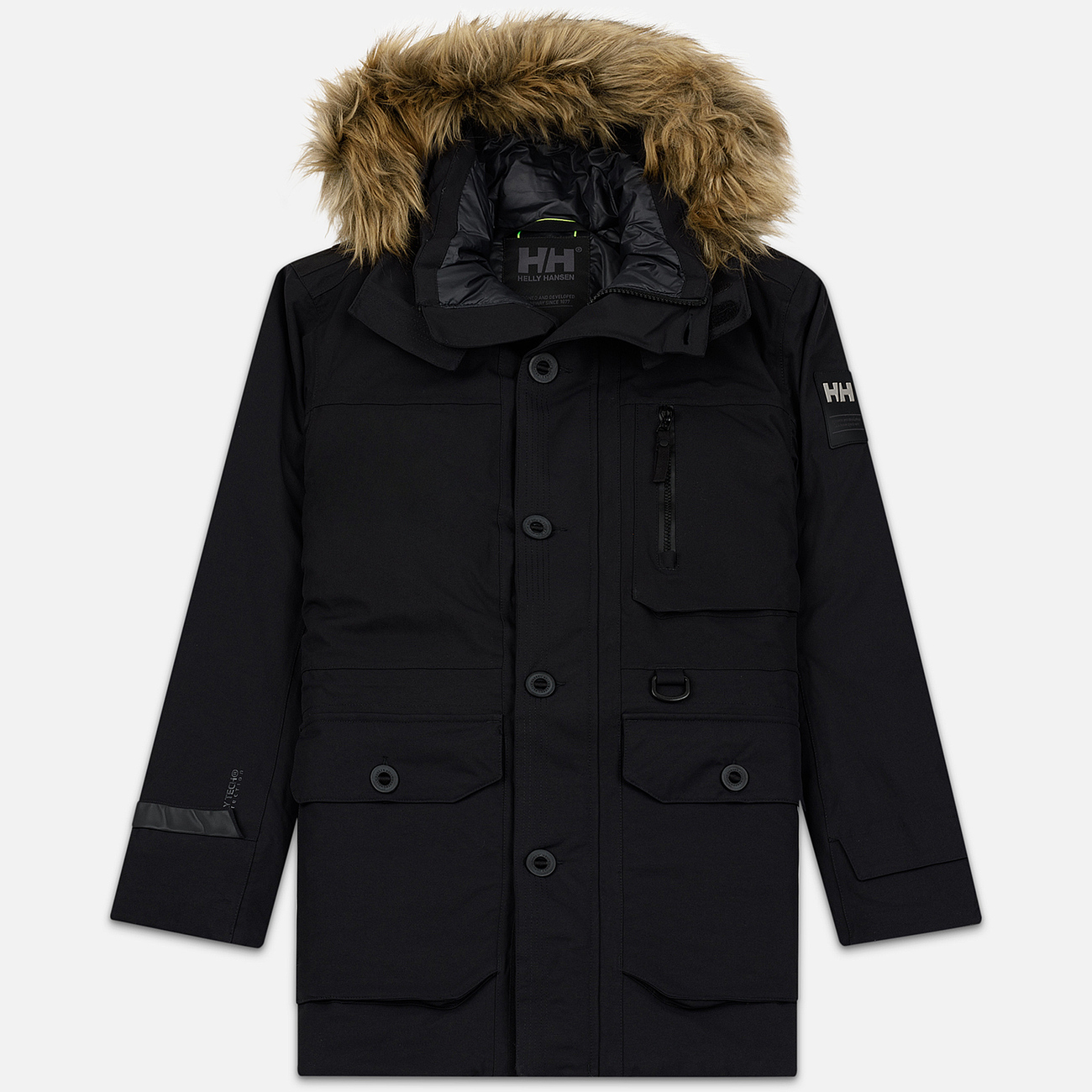 Мужская куртка парка Helly Hansen Longyear II Black