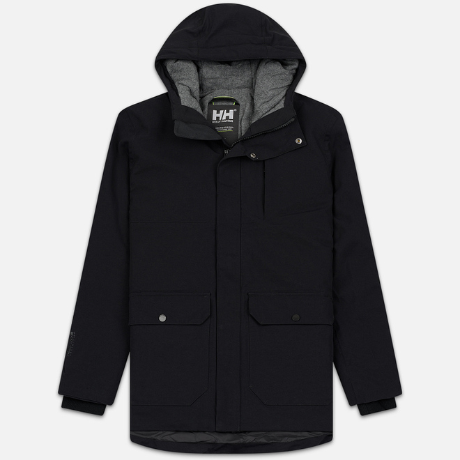Мужская куртка парка Helly Hansen Urban Long Black