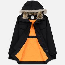 Мужская куртка парка Lacoste Live Faux Fur Hooded Black/Black фото- 1