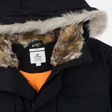Мужская куртка парка Lacoste Live Faux Fur Hooded Black/Black фото- 2