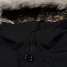 Мужская куртка парка Lacoste Live Faux Fur Hooded Black/Black фото- 3