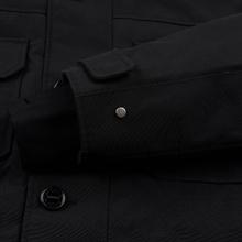 Мужская куртка парка Lacoste Live Faux Fur Hooded Black/Black фото- 5