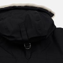 Мужская куртка парка Lacoste Live Faux Fur Hooded Black/Black фото- 6