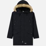 Мужская куртка парка Levi's Hooded Down Davidson Black фото- 0