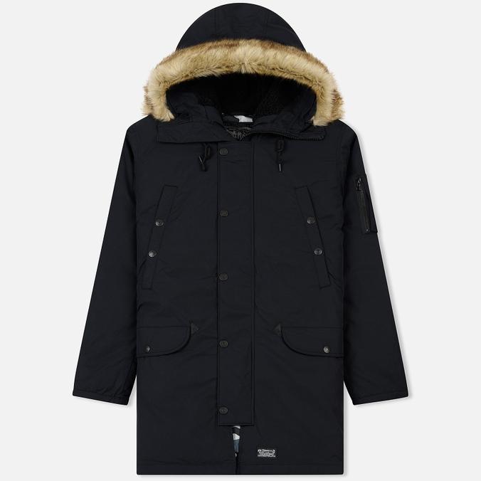 Мужская куртка парка Levi's Hooded Down Davidson Black