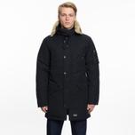 Мужская куртка парка Levi's Hooded Down Davidson Black фото- 8