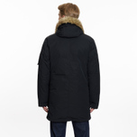 Мужская куртка парка Levi's Hooded Down Davidson Black фото- 9