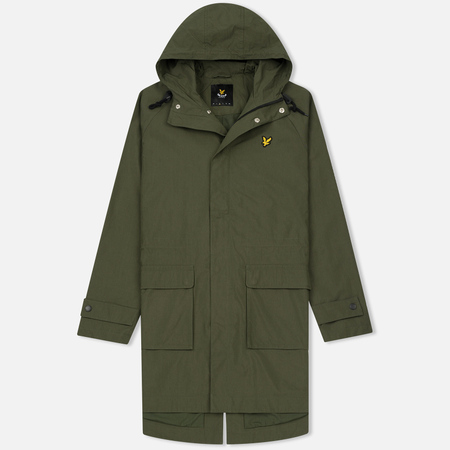 Мужская куртка парка Lyle & Scott Lightweight Dark Sage