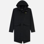 Мужская куртка парка Lyle & Scott Waxy True Black фото- 0