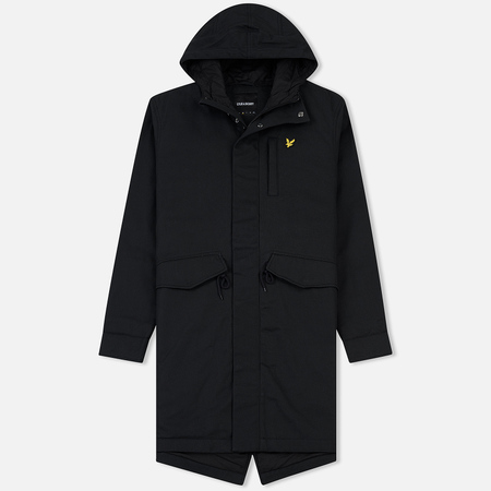 Мужская куртка парка Lyle & Scott Waxy True Black