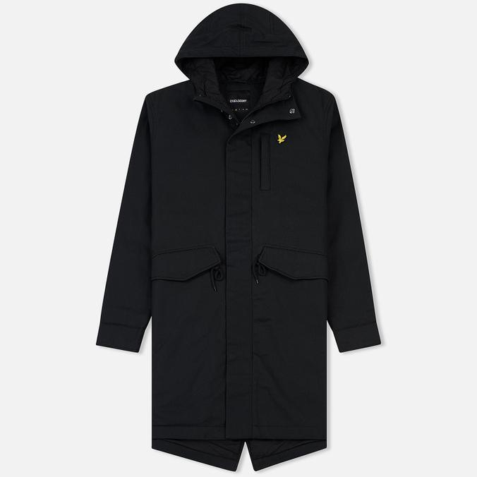 Мужская куртка парка Lyle & Scott Waxy True Black