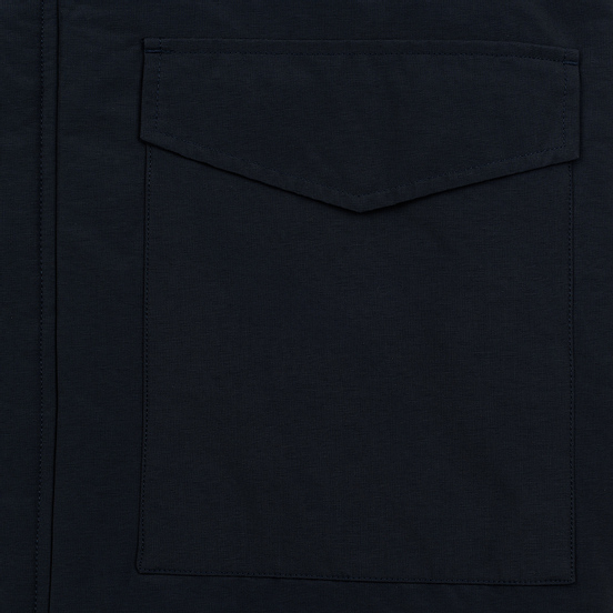Мужская куртка парка Lyle & Scott Winter Weight Microfleece Dark Navy