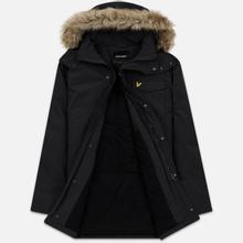 Мужская куртка парка Lyle & Scott Winter Weight Microfleece True Black фото- 1