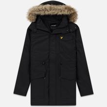 Мужская куртка парка Lyle & Scott Winter Weight Microfleece True Black фото- 0