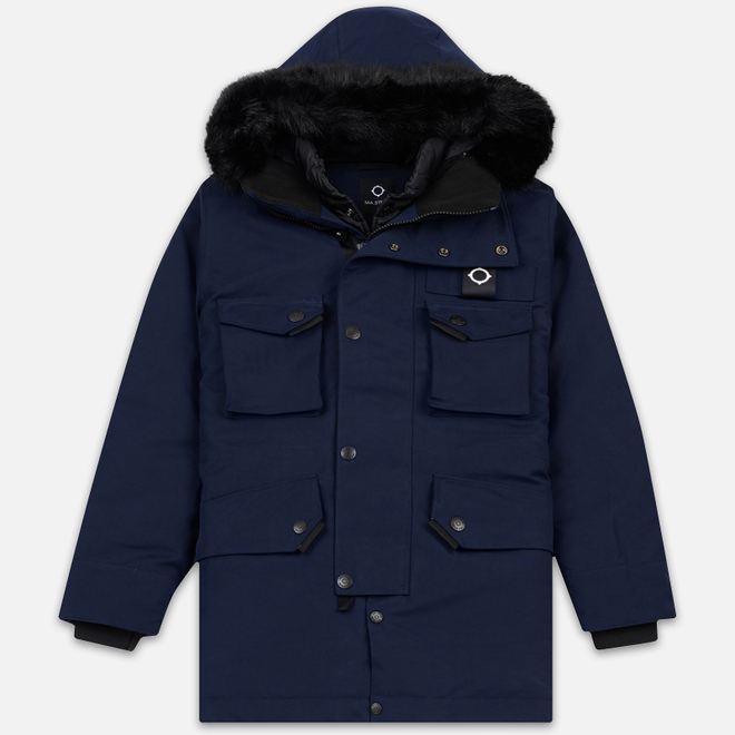 Мужская куртка парка MA.Strum Arctic True Navy