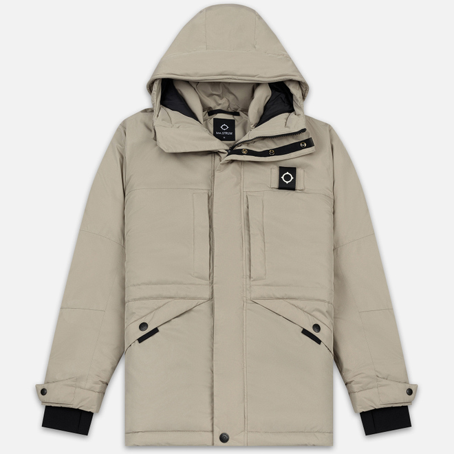 Мужская куртка парка MA.Strum Ascenda Silver Goose