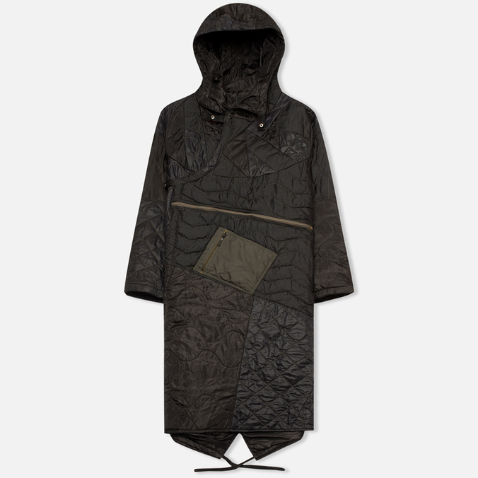Мужская куртка парка maharishi Quilted Tri Border Black