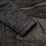 Мужская куртка парка maharishi Quilted Tri Border Black фото- 5