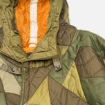 Мужская куртка парка Maharishi Quilted Tri Border Olive фото- 2