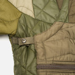 Мужская куртка парка Maharishi Quilted Tri Border Olive фото- 3