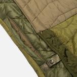 Мужская куртка парка Maharishi Quilted Tri Border Olive фото- 5