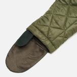 Мужская куртка парка Maharishi Quilted Tri Border Olive фото- 6