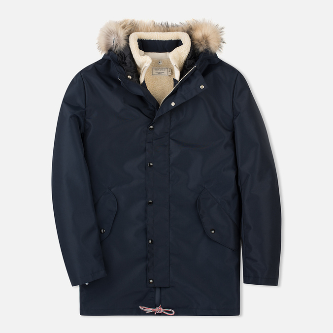 Мужская куртка парка Maison Kitsune Waterproof Navy