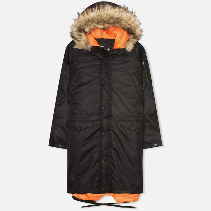 MHI By Maharishi Flight Tail Men's Parka Black