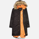 MHI By Maharishi Flight Tail Men's Parka Black photo- 1