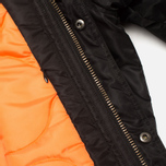 MHI By Maharishi Flight Tail Men's Parka Black photo- 6