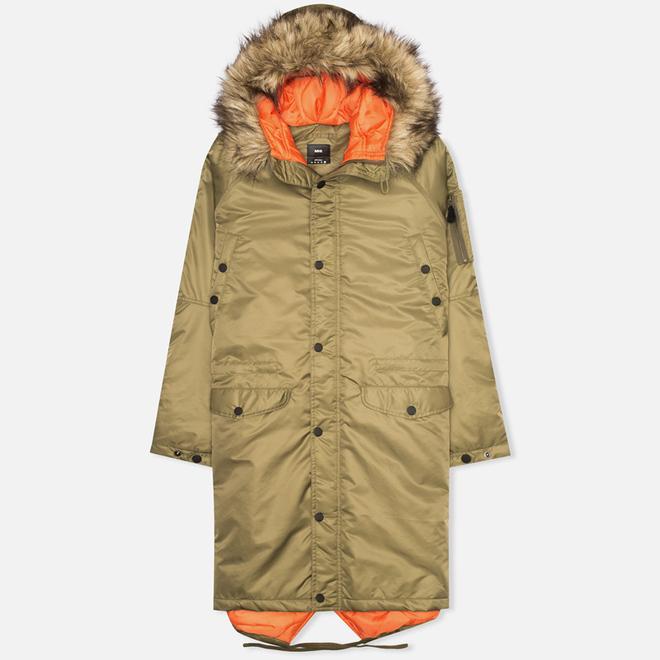 Мужская куртка парка maharishi Flight Tail Olive