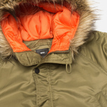 Мужская куртка парка MHI By Maharishi Flight Tail Olive фото- 2
