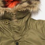Мужская куртка парка MHI By Maharishi Flight Tail Olive фото- 3