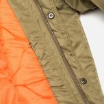 Мужская куртка парка MHI By Maharishi Flight Tail Olive фото- 6