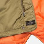 Мужская куртка парка MHI By Maharishi Flight Tail Olive фото- 8