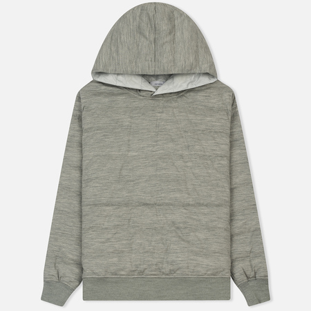 Мужской пуховик Nanamica Down Hood Heather Grey