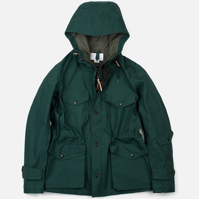 Мужская куртка парка Nanamica GORE-TEX Cruiser Green