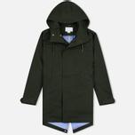 Мужская куртка парка Nanamica GORE-TEX Shell Moss Green фото- 0