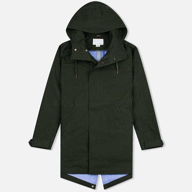 Мужская куртка парка Nanamica GORE-TEX Shell Moss Green