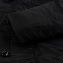 Мужская куртка парка Nanamica Harbor Down Coat Black фото- 4