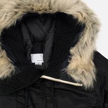 Мужская куртка парка Nanamica Harbor Down Coat Black фото- 3