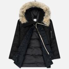 Мужская куртка парка Nanamica Harbor Down Coat Black фото- 2