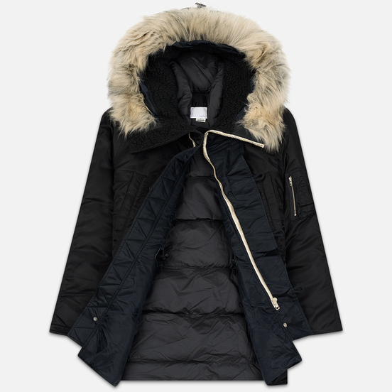 Мужская куртка парка Nanamica Harbor Down Coat Black