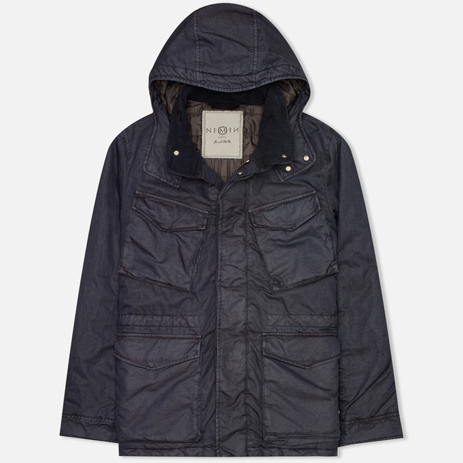 Мужская куртка парка Nemen Cloister Field Dark Indigo